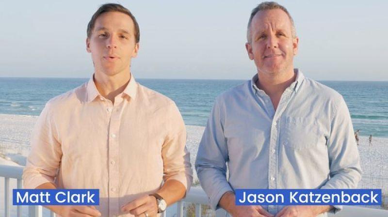 Matt Clark and Jason Katzenback