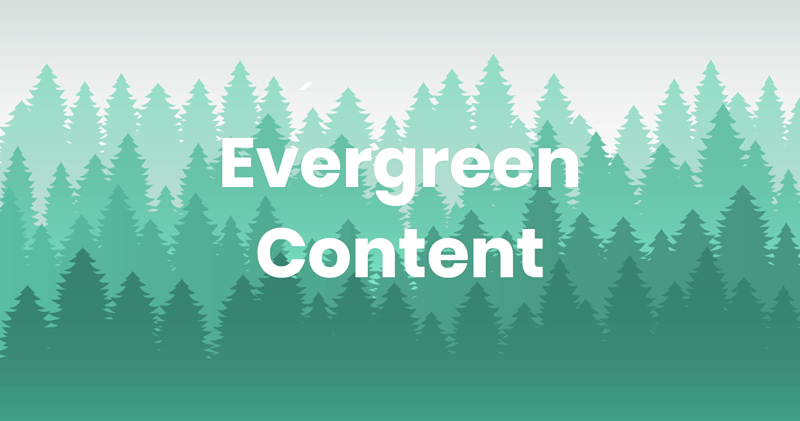 Evergreen content_
