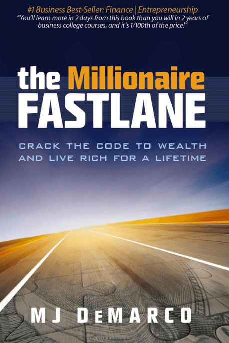 cover of MJ DeMarco's book titled the millionaire fastlane