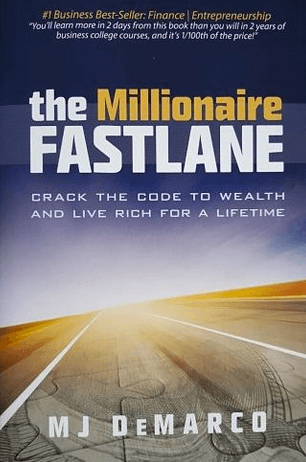book cover for mj demarco millionaire fastlane