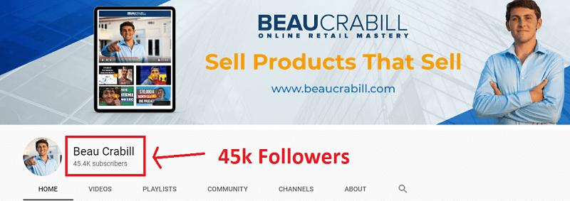 Beau Crabrill Youtube