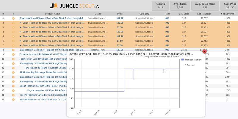JS Product Tracker