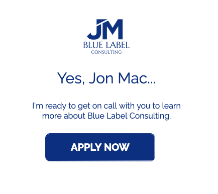 apply now button for jon mac blue label consulting agency