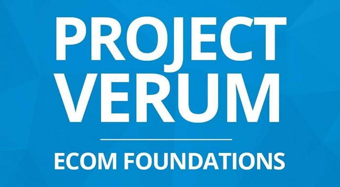 logo for projet verum ecom foundations dropshipping course