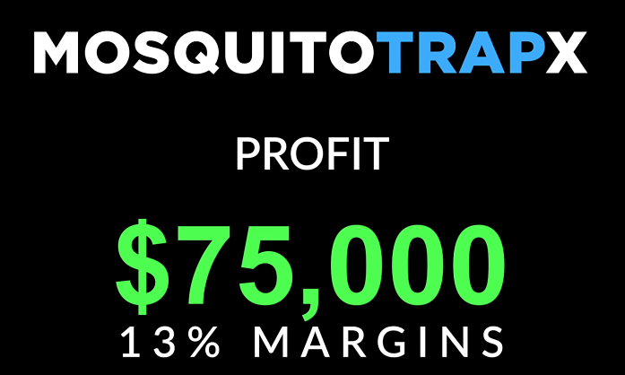 mosquito trapx profit from project verum