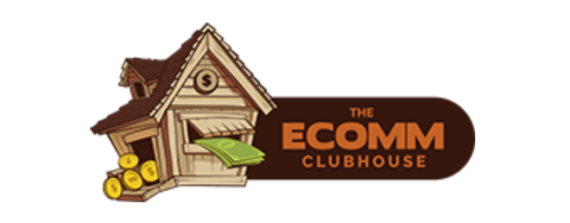 ecomm clubhouse logo on white background