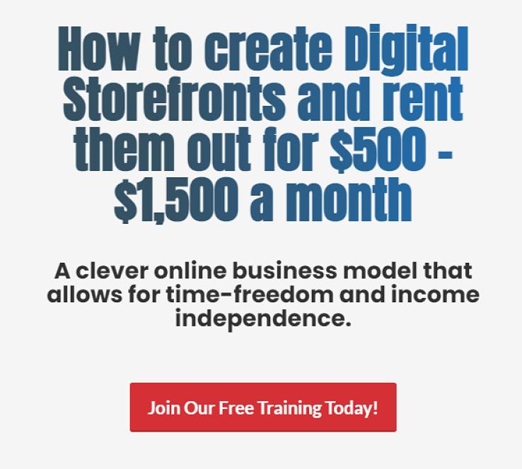 Digital Storefronts Overview