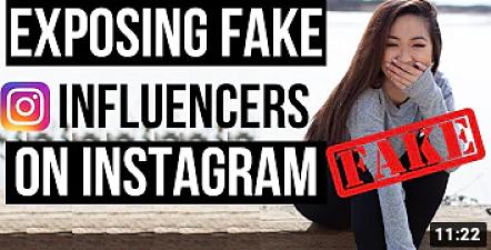 exposing fake instagramers youtube video