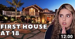 video about sara finance buying a house at 18 years of age