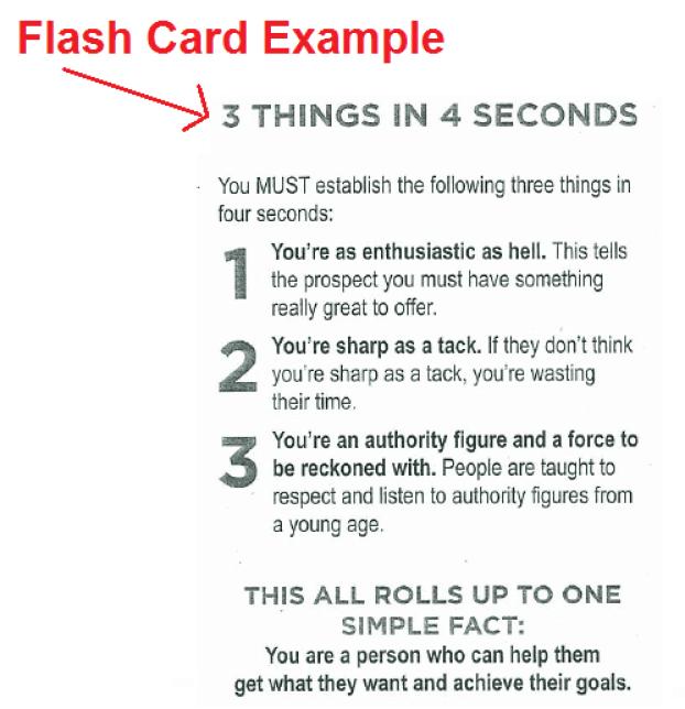 Flash Cards Jordan Belfort