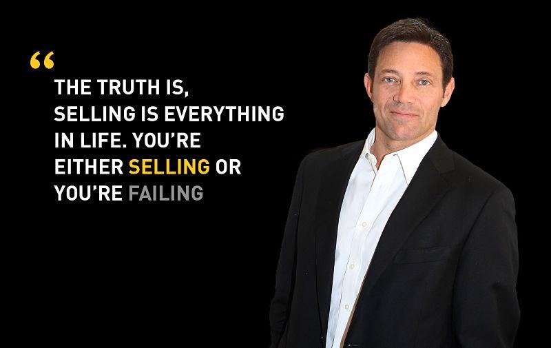 Jordan Belfort Selling Quote
